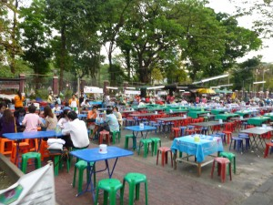 "Open air seating.  Want to eat at a ""real Thai restaurant""?  This is it."